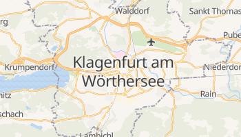 Klagenfurt - szczegółowa mapa Google