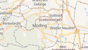 Mödling - szczegółowa mapa Google
