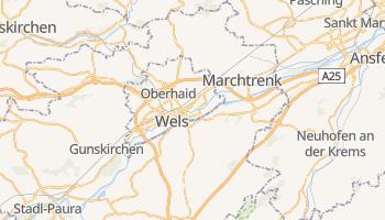 Wels - szczegółowa mapa Google
