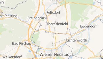 Wiener Neustadt - szczegółowa mapa Google
