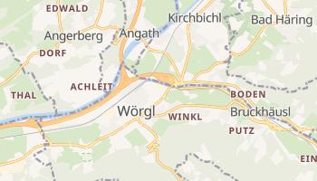 Wörgl - szczegółowa mapa Google