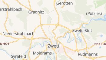 Zwettl - szczegółowa mapa Google
