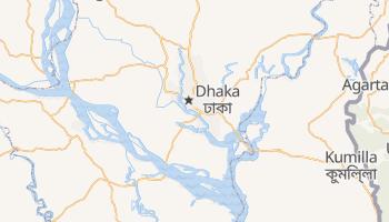 Dhaka - szczegółowa mapa Google