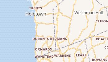 Christchurch - szczegółowa mapa Google