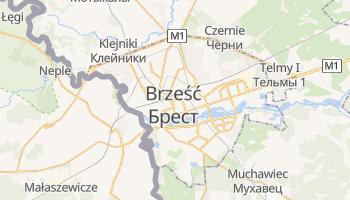 Brest - szczegółowa mapa Google