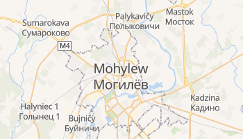 Mohylew - szczegółowa mapa Google