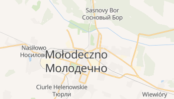 Mołodeczno - szczegółowa mapa Google