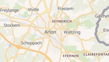 Arlon - szczegółowa mapa Google