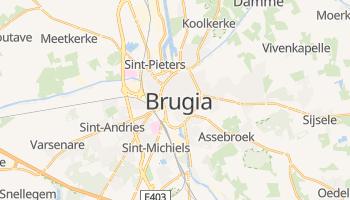 Brugia - szczegółowa mapa Google