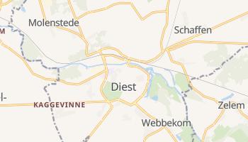 Diest - szczegółowa mapa Google