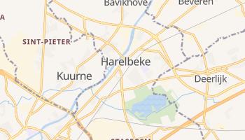 Harelbeke - szczegółowa mapa Google