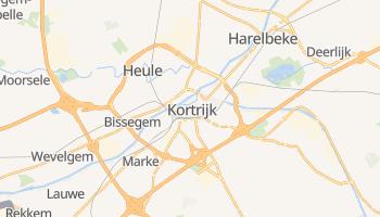 Kortrijk - szczegółowa mapa Google
