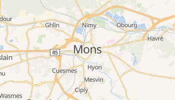 Mons - szczegółowa mapa Google