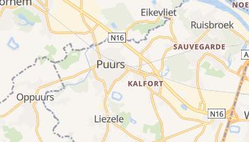 Puurs - szczegółowa mapa Google