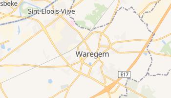 Waregem - szczegółowa mapa Google