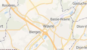Wavre - szczegółowa mapa Google