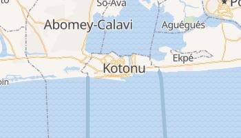 Kotonu - szczegółowa mapa Google