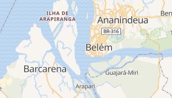 Belém - szczegółowa mapa Google