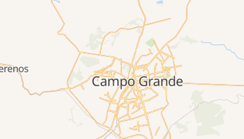 Campo Grande - szczegółowa mapa Google