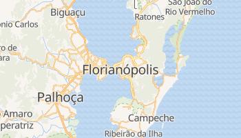 Florianópolis - szczegółowa mapa Google