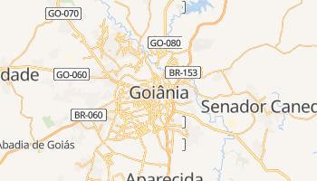Goiânia - szczegółowa mapa Google