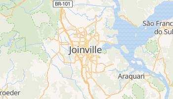 Joinville - szczegółowa mapa Google
