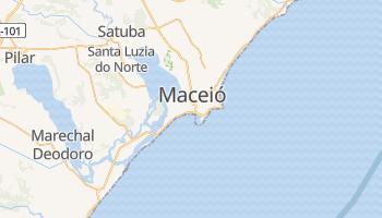 Maceió - szczegółowa mapa Google