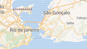 Niterói - szczegółowa mapa Google