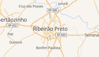 Ribeirão Preto - szczegółowa mapa Google