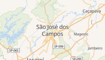 São José dos Campos - szczegółowa mapa Google