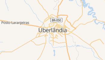 Uberlândia - szczegółowa mapa Google