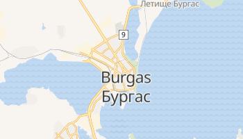 Burgas - szczegółowa mapa Google