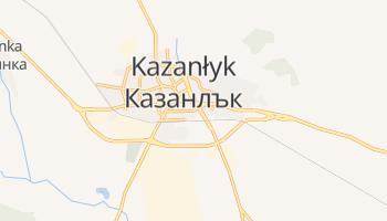 Kazanłyk - szczegółowa mapa Google