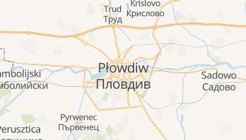 Płowdiw - szczegółowa mapa Google