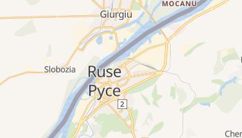 Ruse - szczegółowa mapa Google