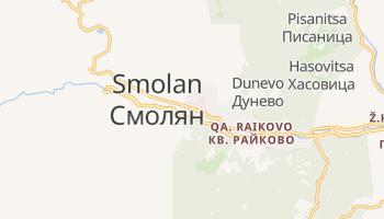 Smolan - szczegółowa mapa Google