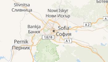 Sofia - szczegółowa mapa Google