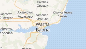 Warna - szczegółowa mapa Google