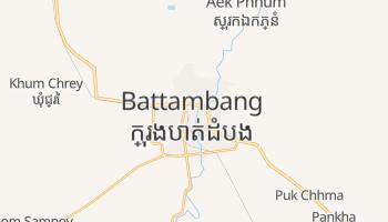 Battambang - szczegółowa mapa Google