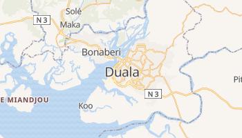 Duala - szczegółowa mapa Google