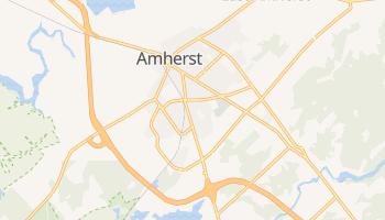Amherst - szczegółowa mapa Google