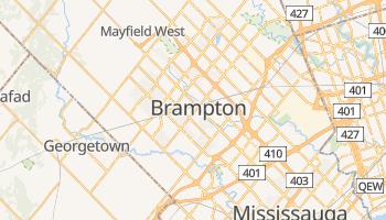 Brampton - szczegółowa mapa Google