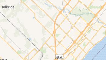 Burlington - szczegółowa mapa Google