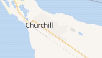 Winston Churchill - szczegółowa mapa Google