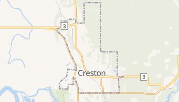 Creston - szczegółowa mapa Google