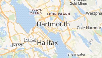 Dartmouth - szczegółowa mapa Google