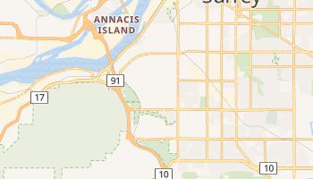 Delta - szczegółowa mapa Google