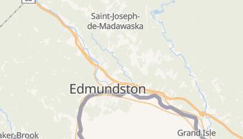 Edmundston - szczegółowa mapa Google