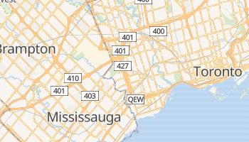 Etobicoke - szczegółowa mapa Google