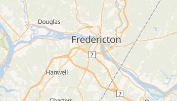 Fredericton - szczegółowa mapa Google